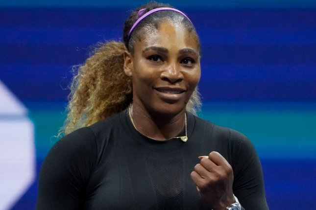 Serena Williams will face Tsvetana Pironkova in the U.S. Open quarterfinals Wednesday after she won her round of 16 match in three sets Monday in Queens, N.Y. Photo by Ray Stubblebine/UPI