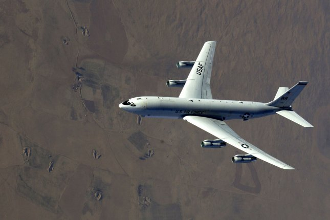 The U.S. Air Force's Joint STARS E-8C aircraft was deployed near North Korea in recent days, according to a South Korean press report. File Photo by Suzanne Jenkins/U.S. Air Force/UPI