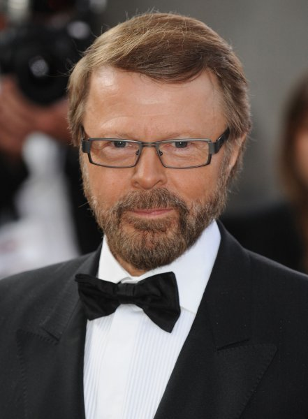 Swedish songwriter Bjorn Ulvaeus attends the National Movie Awards at Royal Festival Hall in London on September 8, 2008. (UPI Photo/Rune Hellestad)