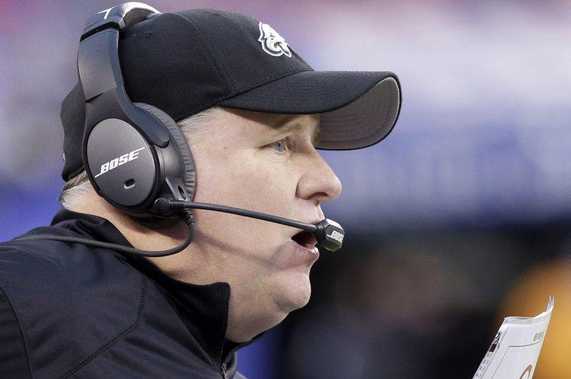Philadelphia Eagles head coach Chip Kelly. UPI /John Angelillo
