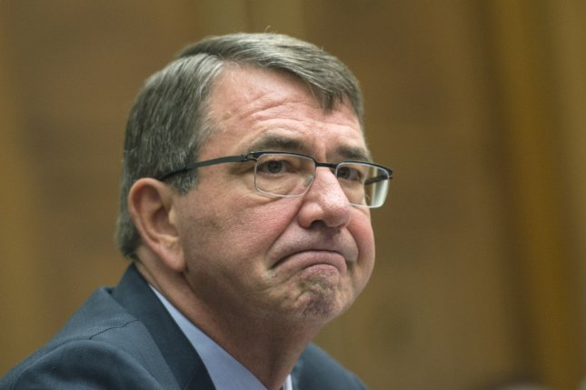 Secretary of Defense Ashton Carter testifies during a House Armed Services Committee hearing on the U.S. Strategy for Syria and Iraq and its implications for the region, on Capitol Hill in Washington, D.C. on December 1, 2015. Photo by Kevin Dietsch/UPI