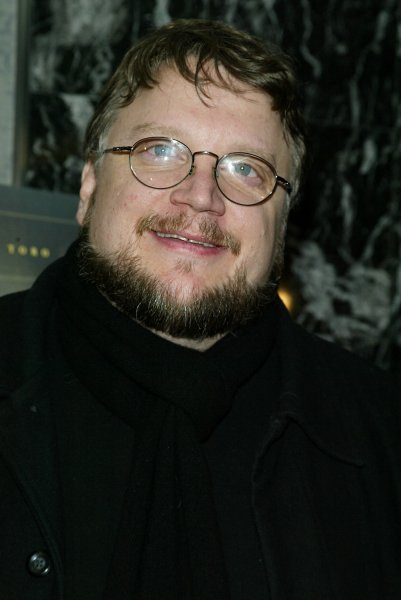 Guillermo del Toro arrives for the premiere of The Orphanage at the AMC Loews 19th Street Theater in New York on December 18, 2007. (UPI Photo/Laura Cavanaugh)