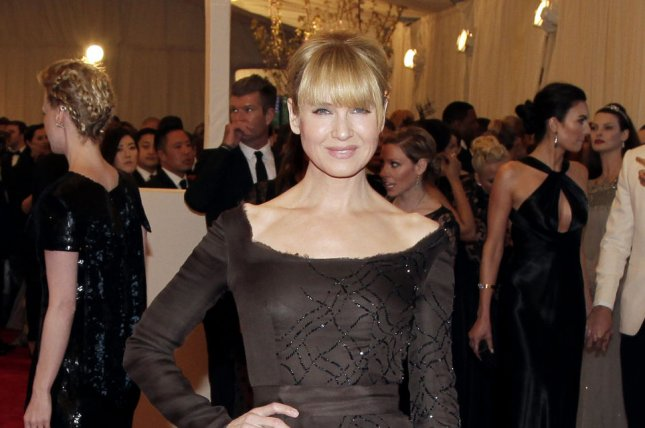 Renee Zellweger arrives on the red carpet at the Costume Institute Benefit at the Metropolitan Museum of Art in New York City on May 6, 2013. File Photo by John Angelillo/UPI