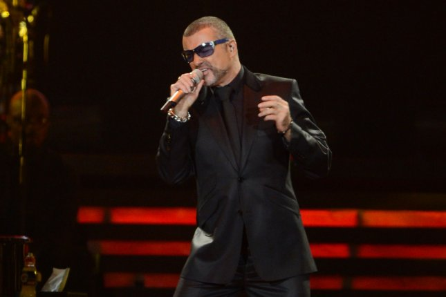 British singer George Michael performs at Earl's Court in London on October 13, 2012. The documentary George Michael: Freedom is to debut on Showtime on Oct. 21. File Photo by Rune Hellestad/UPI