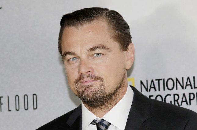 Leonardo DiCaprio appears alongside Brad Pitt in a set photo from Once Upon a Time in Hollywood. File Photo by John Angelillo/UPI