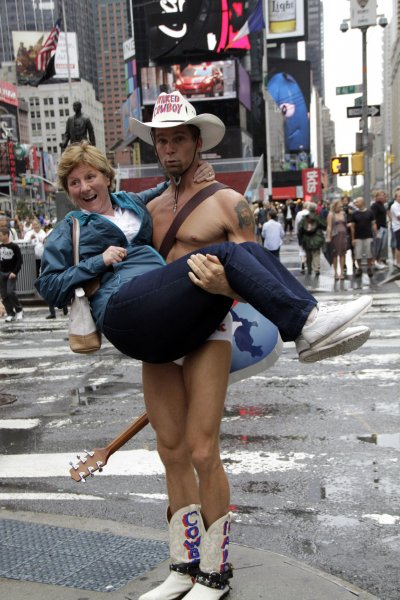 Naked Cowboy Threatens Suit Against Indian - Upicom-5918