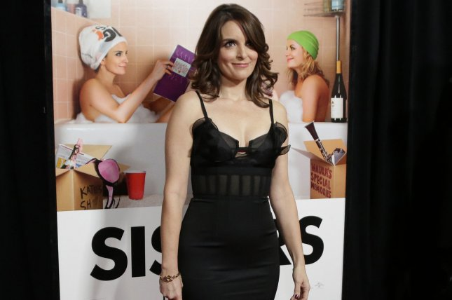 Tina Fey arrives on the red carpet at the New York premiere of Sisters on December 8, 2015. Photo by John Angelillo/UPI