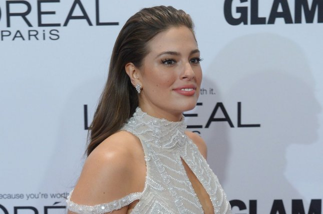 Ashley Graham at the Glamour Women of the Year Awards on November 14. The model appears on the January cover of British Vogue. File Photo by Jim Ruymen/UPI