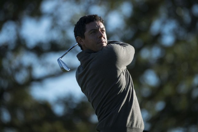 Rory McIlroy planned to be very busy before making his third bid to complete the career Grand Slam at the Masters in April at Augusta National. File Photo by Kevin Dietsch/UPI