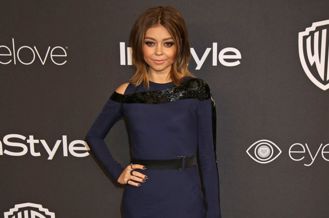 Sarah Hyland attends the 18th annual InStyle and Warner Bros. Golden Globe after-party on January 8. Hyland has explained on Twitter the reason behind her recent weight loss. File Photo by David Silpa/UPI
