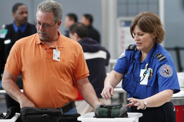 The TSA announced more than 2.5 million passengers each day are anticipated to pass through security checkpoints from Memorial Day through Labor Day. Photo by Brian Kersey/UPI