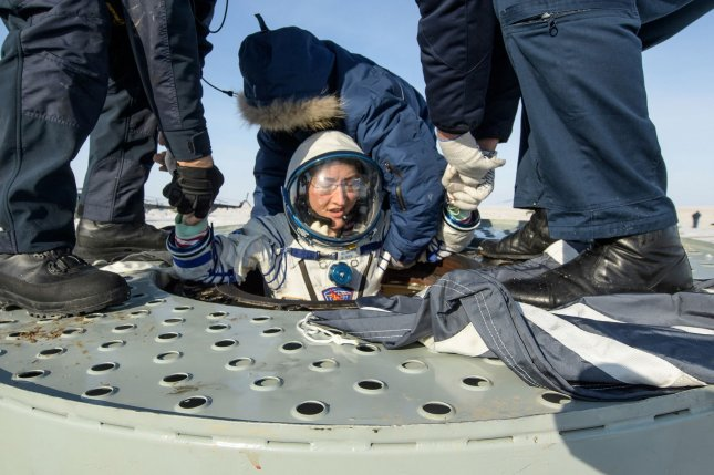 Christina Koch returned to Earth after logging 328 days in space --- the longest spaceflight in history by a woman --- as a member of Expeditions 59-60-61 on the International Space Station. Photo by Bill Ingalls/NASA