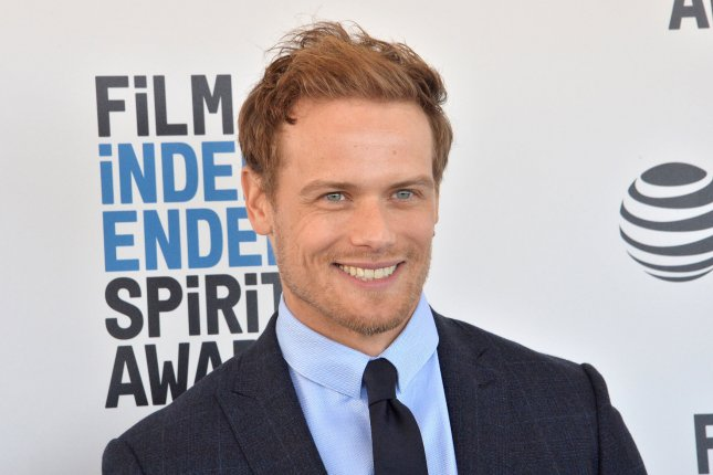 Sam Heughan, who plays Jamie Fraser on Outlander, shared his struggle with harassment and abuse after being criticized for self-isolating in Hawaii amid the coronavirus pandemic. File Photo by Jim Ruymen/UPI