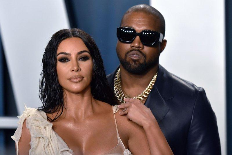 Kim Kardashian will take part in Fashion Unites, a star-studded virtual fashion show from Carine Roitfeld and amfAr. File Photo by Chris Chew/UPI