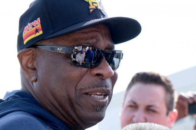 The Houston Astros picked up the second year on manager Dusty Baker's contract in July, but Baker said he doesn't know if he wants to manage past the 2021 season. File Photo by Gary I Rothstein/UPI