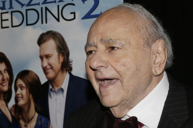 Michael Constantine, who starred in both My Big Fat Greek Wedding films, has died at the age of 94. File Photo by John Angelillo/UPI