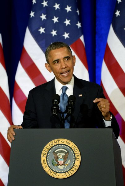 President Barack Obama called for a revamping of U.S. surveillance procedures during a speech at the Department of Justice in Washington, DC on January 17, 2014. The president's announcement came after a White House review following leaks regarding secret surveillance programs by the National Security Agency (NSA). UPI/Pat Benic