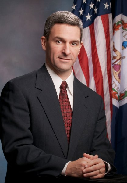 Virginia Attorney General Ken Cuccinelli is pictured in an undated official handout photo from his office. Cuccinelli issued a legal opinion on July 30, 2010 stating Virginia police officers should have the authority to inquire about a person's immigration status, similar to the state law passed in Arizona. UPI/HO