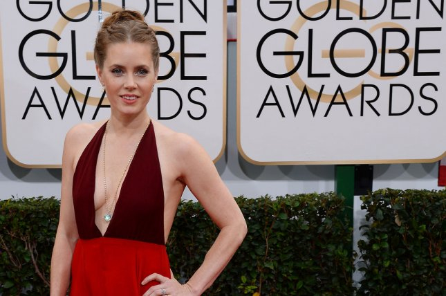 Actress Amy Adams arrives for the 71st annual Golden Globe Awards at the Beverly Hilton Hotel in Beverly Hills, California on January 12, 2014. UPI/Jim Ruymen