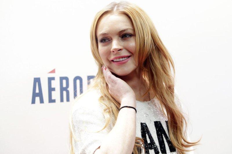 Lindsay Lohan. UPI/John Angelillo