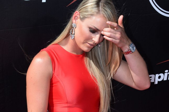 Alpine ski racer Lindsey Vonn attends the ESPY Awards at Microsoft Theater in Los Angeles on July 15, 2015. Photo by Jim Ruymen/UPI