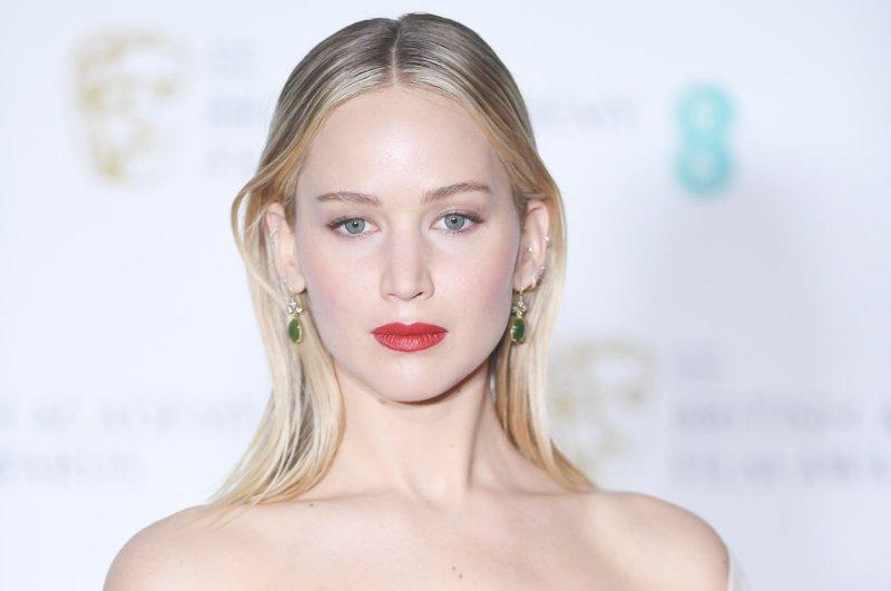 Jennifer Lawrence attends the EE British Academy Film Awards on February 18. File Photo by Rune Hellestad/UPI