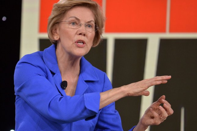 Elizabeth Warren introduced a plan Thursday calling for the collection of diversified data on Asian communities to better identify and solve the issues of its many ethnic and racial identities. Photo by Mike Theiler/UPI