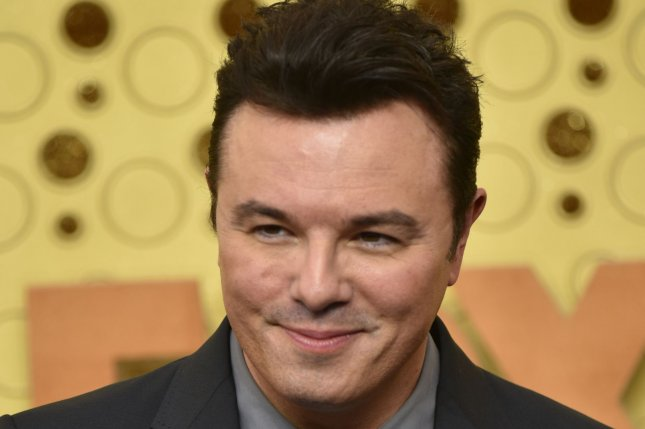 Seth MacFarlane is developing The Winds of War, a series based on the Herman Wouk novel, as his first project for NBCUniversal. File Photo by Christine Chew/UPI
