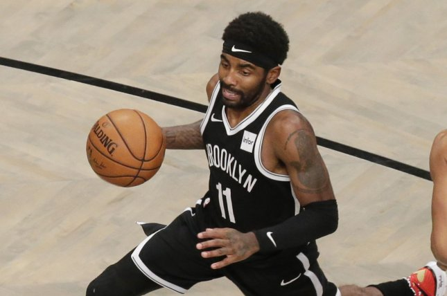 Brooklyn Nets guard Kyrie Irving missed his fourth consecutive game Tuesday due to what the team has called personal reasons, without further elaboration. File Photo by John Angelillo/UPI