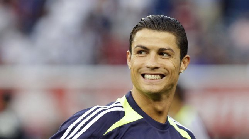 Cristiano Ronaldo File/UPI/John Angelillo