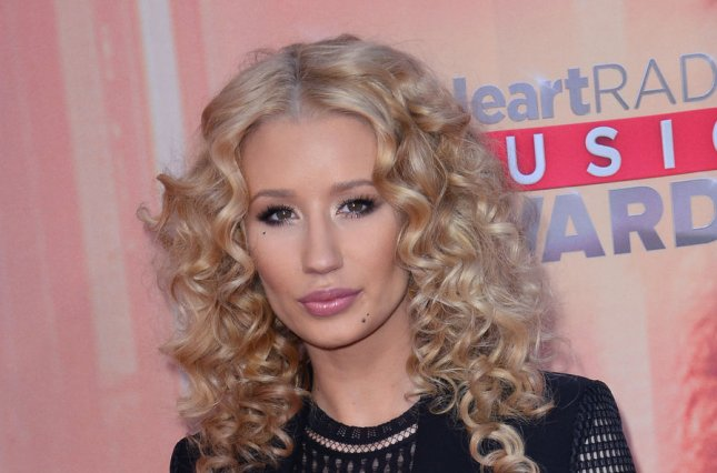 Iggy Azalea and Britney Spears released new song 'Pretty Girls' on Sunday. File photo by Jim Ruymen/UPI