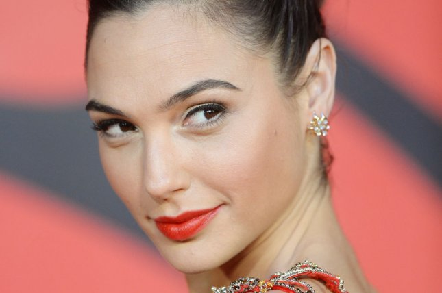 Israeli actress Gal Gadot -- star of the upcoming movie Wonder Woman -- attends the premiere of Batman v Superman: Dawn of Justice in London on March 22, 2016. File Photo by Rune Hellestad/ UPI