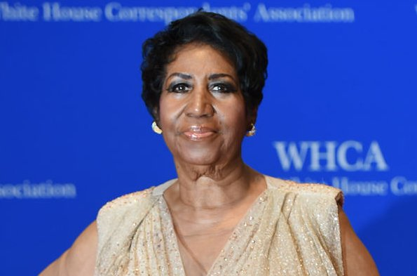 Aretha Franklin at the White House Correspondents' Association gala on April 30. The singer has canceled a number of upcoming concerts. File Photo by Molly Riley/UPI
