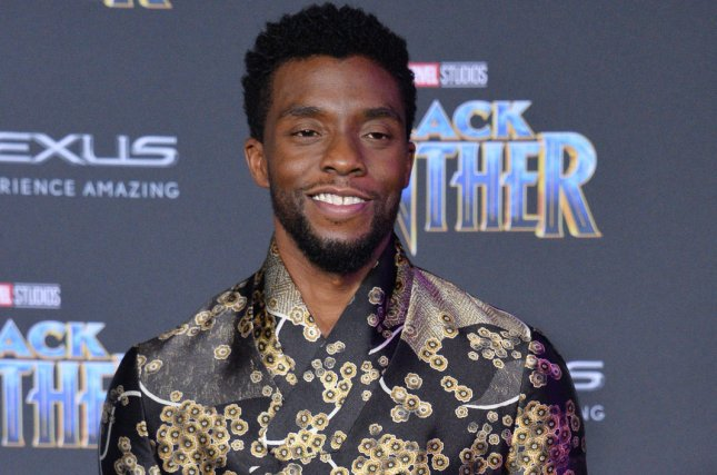 Chadwick Boseman's movie Black Panther is the No. 1 movie in North America this weekend. Photo by Jim Ruymen/UPI