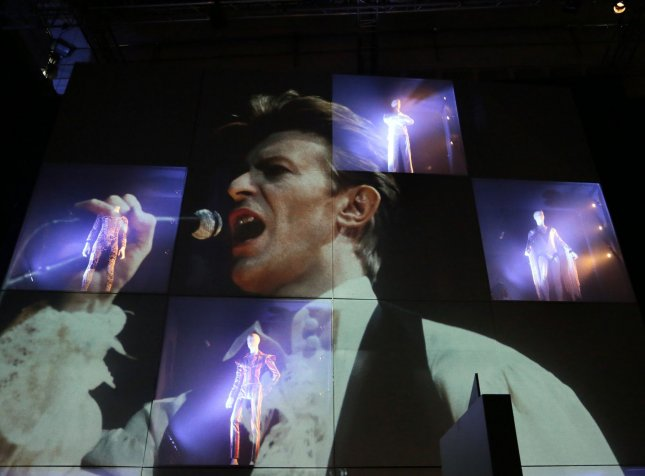 Six previously unreleased 1990s live recordings from David Bowie will be released starting on Oct. 30 with full set by early 2021. File Photo by Hugo Philpott/UPI