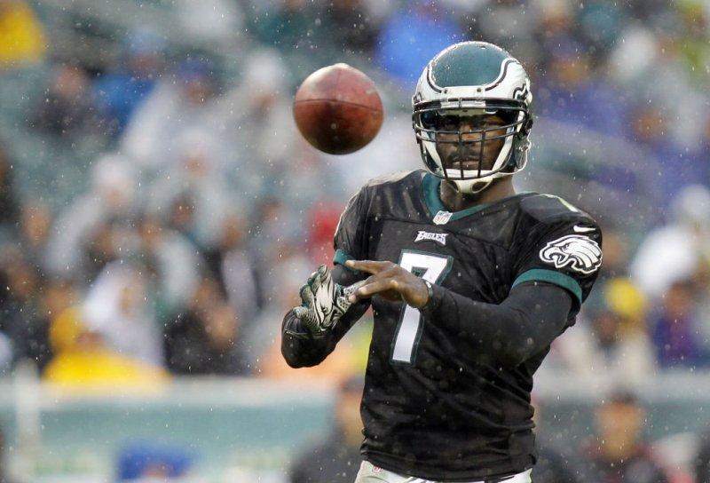 Philadelphia Eagles' quarterback Michael Vick File/UPI/Laurence Kesterson