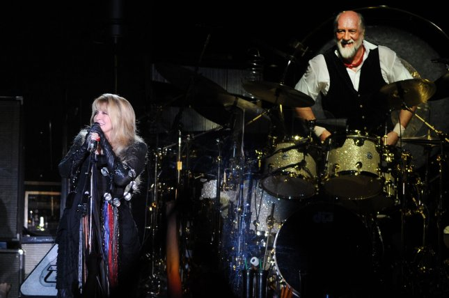 American singer Stevie Nicks and British drummer Mick Fleetwood had to cut a concert short after Fleetwood fell ill with the stomach flu. UPI/Rune Hellestad