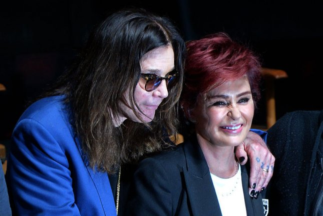 Ozzy Osbourne (L) and Sharon Osbourne promote Ozzfest Meets Knotfest on May 12. The couple separated in May. File Photo by Jim Ruymen/UPI