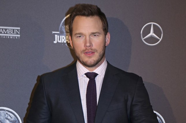 Chris Pratt arrives at the world premiere of the film Jurassic World in Paris on May 29, 2014. Pratt returns as Star Lord in the first teaser trailer for Marvel's upcoming sci-fi sequel, Guardians of the Galaxy Vol. 2. File Photo by David Silpa/UPI.
