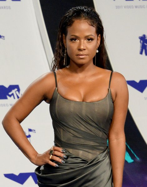Christina Milian arrives for the 34th annual MTV Video Music Awards on August 27. The singer is to co-host the competition show 90s House with Lance Bass. Photo by Jim Ruymen/UPI