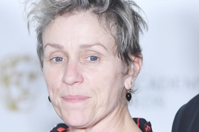 American actress Frances McDormand has joined the ensemble of Amazon's Good Omens. File Photo by Rune Hellestad/UPI