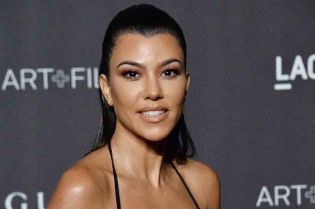 Kourtney Kardashian shared a photo with Scott Disick and daughter Penelope on Wednesday. File Photo by Jim Ruymen/UPI