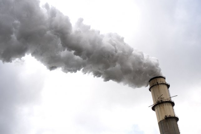 Carbon emissions in the U.S. increased in 2018, according to new research. Photo by Kevin Dietsch/UPI