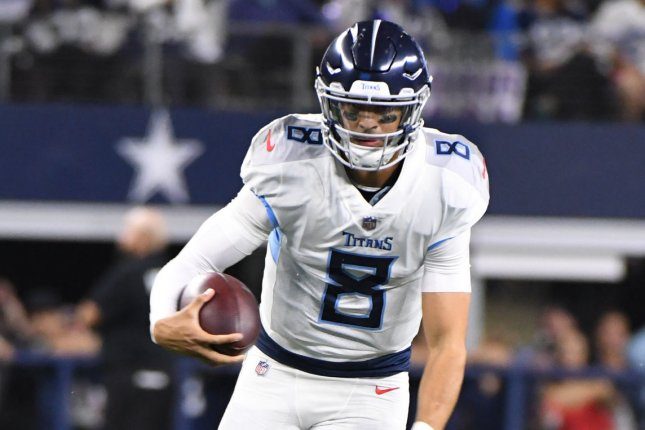 64051750 Titans QB Marcus Mariota adds weight to stay healthy in 2019 - UPI.com