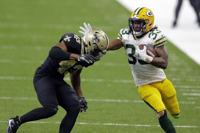 Pro Bowl RB Aaron Jones re-signing with Green Bay Packers - UPI.com