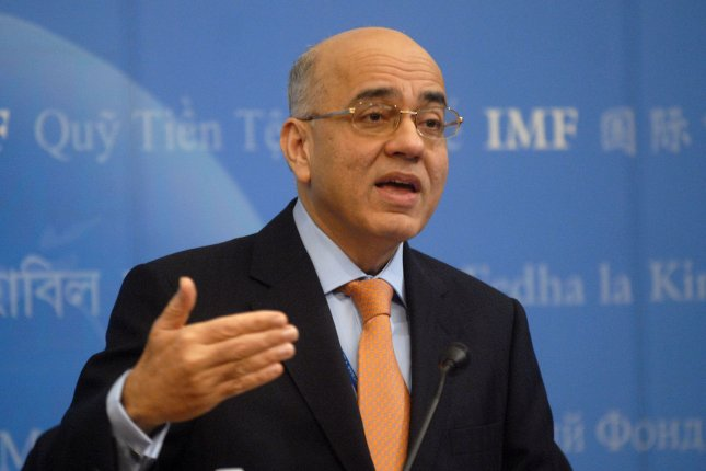 International Monetary Fund Director of Middle East and Central Asia programs Masood Ahmed said Iran's economy is outperforming its peers. File photo by Kevin Dietsch/UPI