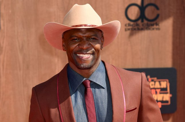 Actor Terry Crews attending the 2016 American Country Countdown Awards on May 1. Crews joined Conan O' Brien to play through a round of World War I video game Battlefield 1 as part of the late night host's popular segment, Clueless Gamer. File Photo by Michael Owen Baker/UPI