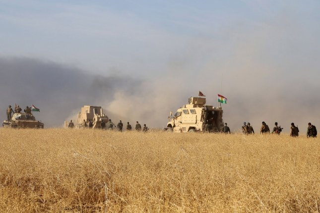 Iraqi military forces have seized control over the oil fields in restive Kirkuk amid fighting in the so-called disputed territories. File photo by Shvan Harki/UPI