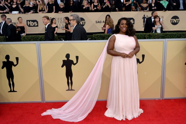 Uzo Aduba is confirmed as a presenter for next month's Tony Awards. File Photo by Jim Ruymen/UPI