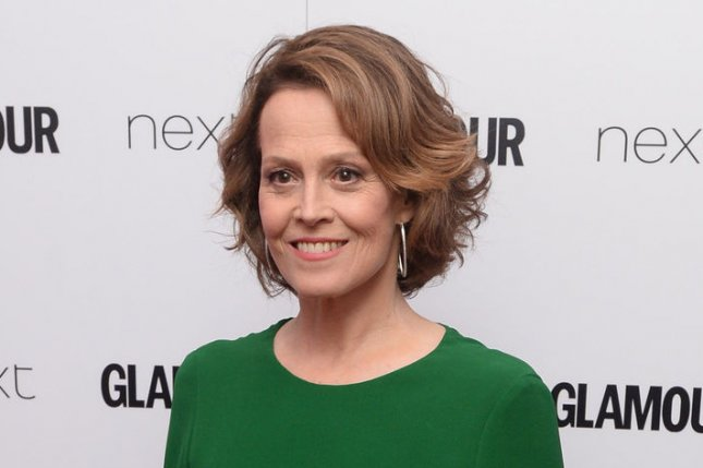 Sigourney Weaver at the Glamour Women of the Year Awards on June 7. The actress played Ellen Ripley in Alien. File Photo by Rune Hellestad/UPI